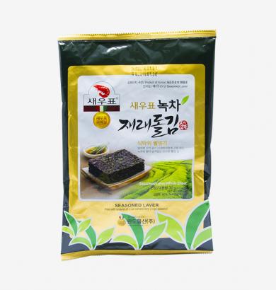 새우표녹차 조미구이김 12봉
